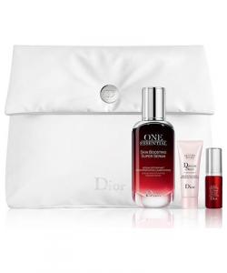 Набор - Christian Dior Capture Totale One Essential Serum (для лица 50ml+вокруг глаз 5ml+вокруг глаз 7ml+косметичка)