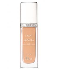 УЦЕНКА Крем тональный для лица с эффектом обнаженной кожи - Christian Dior Diorskin Nude Skin-Glowing Makeup SPF 15 тестер без коробки