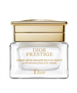 Восстанавливающий атласный крем для контура глаз - Dior Prestige Satin Revitalizing Eye Creme тестер 15мл