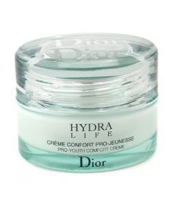 Крем для лица увлажняющий ночной - Christian Dior Hydra life creme confort pro-jeunesse тестер