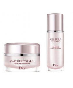 Набор - Dior Capture Totale creme 50ml + serum 10ml + eye/treat 5ml