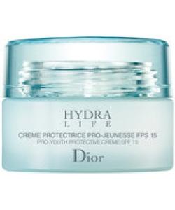 Увлажняющий защитный крем для нормальной и сухой кожи - Christian Dior Hydra Protective Cream SPF15 тестер