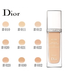 Крем тональный для лица с эффектом обнаженной кожи - Christian Dior Diorskin Nude Skin-Glowing Makeup SPF 15 тестер без коробки
