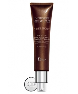 База под макияж с эффектом автозагара - Dior Diorskin Nude Tan Prime and Bronze тестер