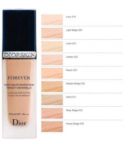 УЦЕНКА Тональное средство - Christian Dior Diorskin Forever Fusion Wear Foundation тестер без коробки и крышечки
