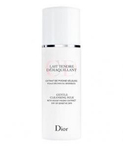 Нежное очищающее молочко с экстрактом пиона - Christian Dior Gentle Cleansing Milk with Velvet Peony Extract тестер 125ml