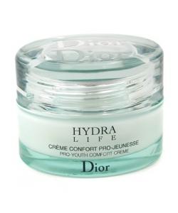 Крем для лица увлажняющий ночной - Christian Dior Hydra life creme confort pro-jeunesse