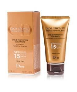 Крем для усиления загара - Christian Dior Dior Bronze Beautifying Protective Suncare SPF 50