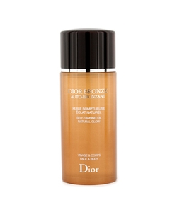 Солнцезащитное масло для лица, тела и волос - Dior Bronze Beautifying Protective Oil Sublime Glow SPF 15 125ml