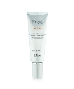 РАСПРОДАЖА Увлажняющая эмульсия для лица - Christian Dior Hydra Life Enhancing Moisturized For Immediate Deuty BB Cream SPF30-PA+++
