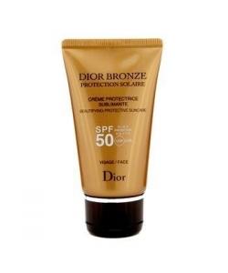 Солнцезащитный крем для лица - Christian Dior Bronze Spf 50 Protection Solaire