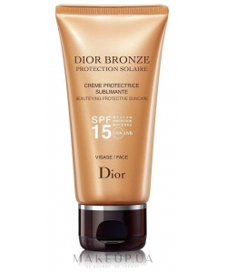Солнцезащитный крем для лица - Christian Dior Dior Bronze SPF 15 тестер