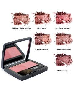 Румяна - Christian Dior Diorblush Glowing Color Powder Blush тестер без коробки