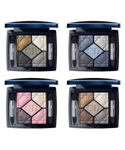 Тени для век - Christian Dior 5 Color Eyeshadow тестер без коробки